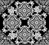 Modelo cuadrado simétrico abstracto blanco libre illustration