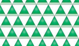 Modelo a cuadros del triángulo verde abstracto moderno simple Imagen de archivo libre de regalías