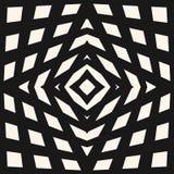 Modelo a cuadros geométrico del vector Diseño para la decoración, impresiones, cubiertas Fotografía de archivo