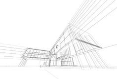 Modelo da arquitetura ilustração stock