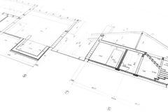 Modelo da arquitetura imagens de stock
