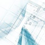 Modelo da arquitetura ilustração do vetor