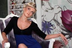 Modelo da beleza Imagem de Stock Royalty Free