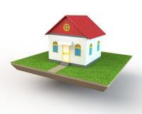 Modelo da casa Imagens de Stock Royalty Free