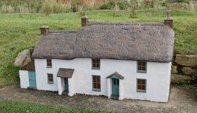 Modelo da casa de campo. Imagem de Stock