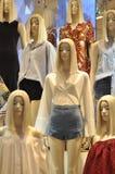 Modelo da clonagem fotografia de stock