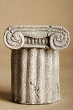 Modelo da coluna dos gregos imagem de stock royalty free