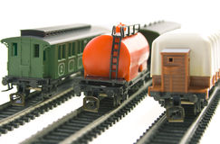 Modelo da estrada de ferro Foto de Stock
