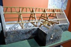 Modelo da estrutura da construção dos protetores do templo de Templar Fotografia de Stock Royalty Free
