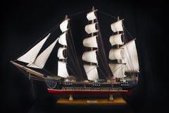 Modelo da fragata do século XVIII Foto de Stock