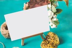 Modelo da identidade e do ofício com efeito retro do filtro Fotos de Stock Royalty Free