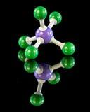 Modelo da molécula da química dos fósforos imagens de stock royalty free