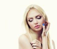 Modelo da mulher Imagens de Stock Royalty Free
