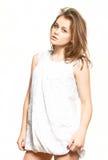 Modelo da rapariga fotografia de stock