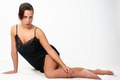 Modelo da roupa interior Imagens de Stock Royalty Free