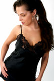 Modelo da roupa interior Fotografia de Stock Royalty Free