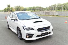Modelo 2015 da WTI 2014 de Subaru WRX Fotos de Stock