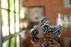 Modelo de acero de la moto del interruptor Fotografía de archivo libre de regalías