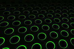 Modelo de agujero verde Imagen de archivo