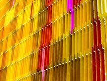 modelo de al aire libre interior de las hojas de acrílico Fotografía de archivo libre de regalías