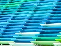 modelo de al aire libre interior de las hojas de acrílico Imagenes de archivo