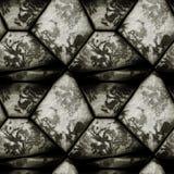 Modelo de alivio inconsútil abstracto de piedras granulosas blancos y negros stock de ilustración