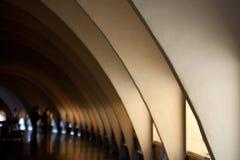 Modelo de archs Imágenes de archivo libres de regalías