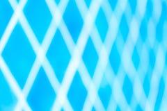 Modelo de baldosas cerámicas azules Fotos de archivo