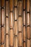 Modelo de bambú de la pared Fotografía de archivo