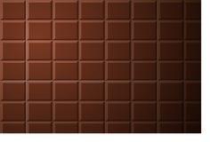Modelo de barra de chocolate Foto de archivo libre de regalías
