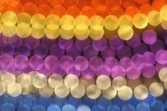 Modelo de círculos coloridos Foto de archivo libre de regalías