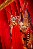 Modelo de cera da ópera de Beijing Fotos de Stock Royalty Free