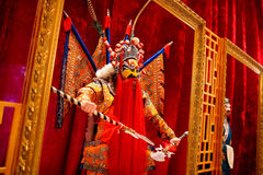 Modelo de cera da ópera de Beijing Foto de Stock Royalty Free