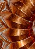 Modelo de cobre surcado Imagenes de archivo