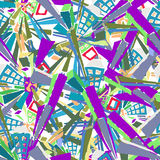 Modelo de Colourfull imágenes de archivo libres de regalías