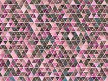 Modelo de cristal geométrico abstracto Imagenes de archivo