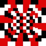Modelo de cuadrados coloridos Imagen de archivo