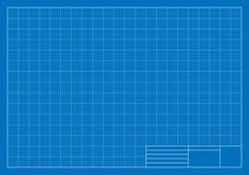 Modelo de esboço, grade, arquitetura Imagem de Stock