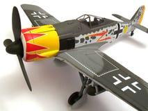 Modelo de escala de Focke Wulf 190 fotografía de archivo