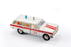 Modelo de escala de la colección de los primeros auxilios del coche Fotografía de archivo