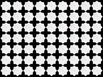 Modelo de estrella blanco en fondo negro Libre Illustration