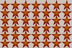 Modelo de estrella borroso sombreado rojo en el ejemplo inconsútil del fondo blanco Diseño moderno Puede ser utilizado para el ne libre illustration