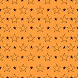 Modelo de estrella, fondo de la estrella Arte de la estrella Ejemplo del vector, EP Imagen de archivo