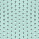 Modelo de estrella Impresión divertida Fondo del bebé Ejemplo del vector con las pequeñas estrellas Los niños simples diseñan stock de ilustración