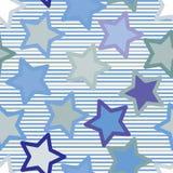 Modelo de estrella inconsútil Foto de archivo libre de regalías
