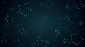 Modelo de estrellas del fondo del papel pintado Imágenes de archivo libres de regalías