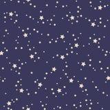 Modelo de estrellas inconsútil Fotografía de archivo libre de regalías