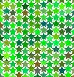 Modelo de estrellas multicoloras Foto de archivo