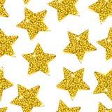 Modelo de estrellas de oro ilustración del vector