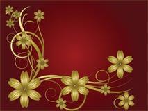 Modelo de flor Foto de archivo
